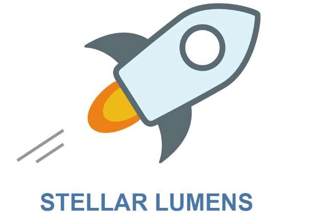 Graphic of Stellar Lumens coin price XLM history